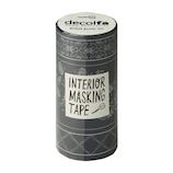 デコルファ インテリアマスキングテープ MKT100 シノワズリ/ブルー