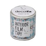 デコルファ インテリアフィルムテープ FT50 タイル/ブラウン