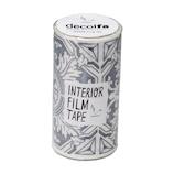 デコルファ インテリアフィルムテープ FT100  タイル/シルバー