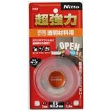 Nitto 超強力透明材料用 15mm×1.5m T4610