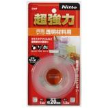 Nitto 超強力透明材料用 20mm×1.2m T4611