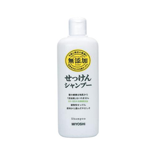 ミヨシ石鹸 無添加 せっけんシャンプー 350ml