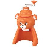 タイガー 氷削り器 きょろちゃん ABF−F100DK オレンジ