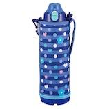 タイガー魔法瓶(TIGER) ステンレスボトル サハラ 2WAY MBO−G100 ネイビーボーダー 1.0L