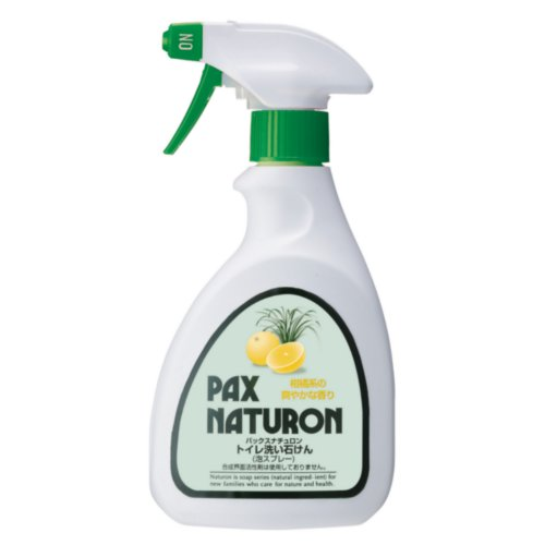 太陽油脂 パックス ナチュロン トイレ洗い石けん 400mL│トイレ掃除用品 トイレ用洗剤・便座クリーナー
