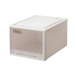 天馬 フィッツケース クローゼット L−53 カプチーノ│収納・クローゼット用品 プラスチックケース・ボックス