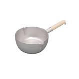 【お買い得】燻銀 アルミ ゆきひら鍋 16cm