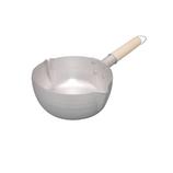 燻銀 アルミ ゆきひら鍋 18cm