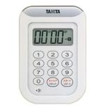 タニタ 丸洗いタイマー TD-378WH ホワイト