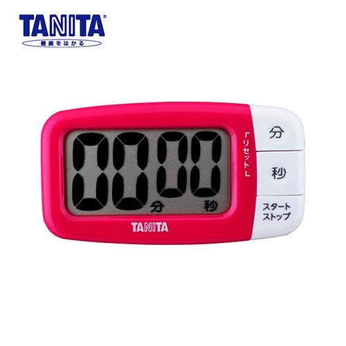 タニタ でか見えプラスタイマー TD-394PK フレッシュピンク