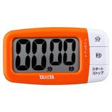 タニタ でか見えプラスタイマー TD-394OR フレッシュオレンジ