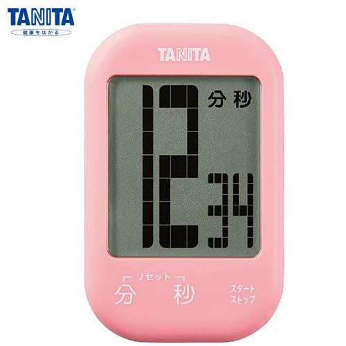 タニタ タッチキータイマー ストロベリーピンク TD-413PK