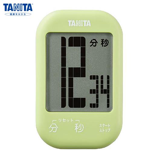 タニタ タッチキータイマー アボカドグリーン TD-413GR