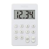 【お買い得】 タニタ デジタルタイマー100分計 ホワイト TD-415WH│タイマー・計量器 キッチンタイマー