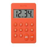 【お買い得】 タニタ デジタルタイマー 100分計 TD-415 オレンジ