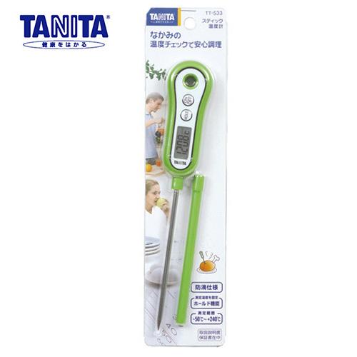 タニタ 料理用スティック温度計 TT-533GR グリーン