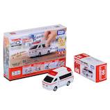 タカラトミー トミカ4D 06トヨタ ハイメディック救急車