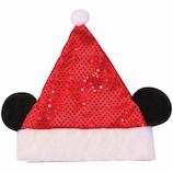 【クリスマス】 ディズニークリスマス キラキラサンタ帽子 ミッキーマウス