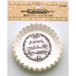 エリア 敷紙タルトレット 丸中 50P No.7026