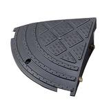 アイリスオーヤマ 段差プレート コーナータイプ 270×270×100mm