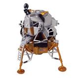 アオシマ 4Dパズル 1/100 アポロ月着陸船