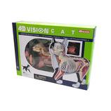 青島文化教材社 FAME MASTER 4D VISION 動物解剖モデル 立体パズル No.29 猫