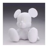 アポロ社 おえかきぬいぐるみ ミッキーマウス│ペーパーアイテム・ウェディングアイテム ウエディングドール