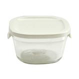 イワキ パック&レンジ プチ 220mL N3200‐W ホワイト│保存容器