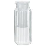 イワキ 茶漉し付角型サ−バ− 1L 296KF-W ホワイト│水筒・魔法瓶 ピッチャー・冷水筒