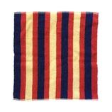 ツヅキ紡 におい知らずのタオルはんかち ストライプ混色