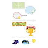 学研 寄せ書き部活シール D04239 テニス