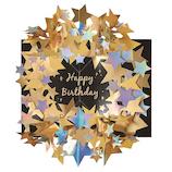 学研ステイフル 誕生日カード 星 ポップカード B48071 ブラック