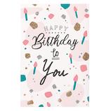 学研ステイフル 誕生日カード グリッターカード B28142 ろうそく│カード・ポストカード バースデー・誕生日カード