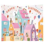 学研ステイフル 誕生日カード ポップアップ B36113 風船│カード・ポストカード バースデー・誕生日カード