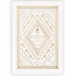 学研ステイフル 多目的カード 箔加工 E30908 ホワイト│カード・ポストカード グリーティングカード
