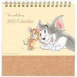 【2021年版・卓上】学研ステイフル トムとジェリー 卓上カレンダー DM10088