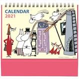 【2021年版・卓上】学研ステイフル ムーミン 原画卓上ポップカレンダー CM12098