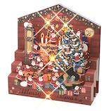 【クリスマス】 学研ステイフル クリスマスカード レーザー ミュージック パーティー X14811