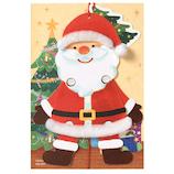 【クリスマス】 学研ステイフル クリスマスカード ぴょこっと ポップアップカード サンタ X48063