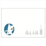 学研 ムーミン レーザー対封筒 D05079