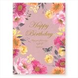 学研 LOU BDカード B32062 チョウと花
