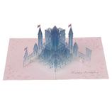 学研ステイフル 誕生日カード クリスタル ポップアップカード B48049 お城