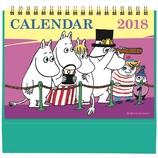 【2018年版・卓上】 学研 ムーミン原画卓上ポップカレンダー M11076 みんな