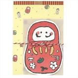 学研 和風パックレター CD04510 だるま