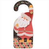 【クリスマス】 学研 クリスマスハンガーカード X42030 サンタ