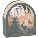 【クリスマス】 学研 クリスマスレイヤーポップカード X34008 トナカイ