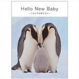 学研 New Babyメッセージブック E10063 動物親子