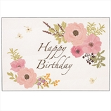 学研 バースデイレーザーポップカード B48055 花ケーキ