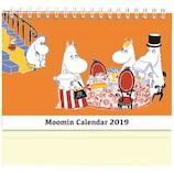 【2019年版・卓上】 学研 ムーミン 卓上カレンダー DM10080