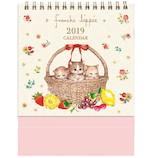【2019年版・卓上】 学研 フランシュリッペ 卓上カレンダー M09064